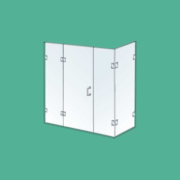 Theshowerlab Dubnium 11 Corner Shower Enclosure