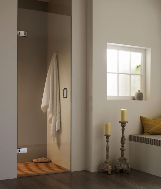 Majestic Maine Shower Pivot Door Enclosure