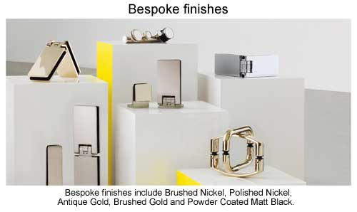 Bespoke finishes